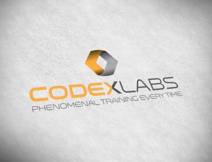 Logo design for Codex Labs. Phenomenal training every time