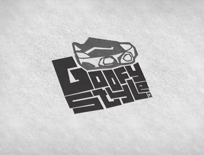 Goofy Style logo, an award winning design