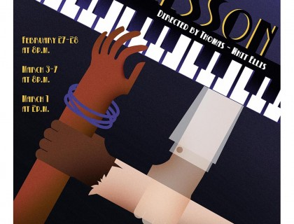 Poster Design for August Wilson's, Piano Lesson