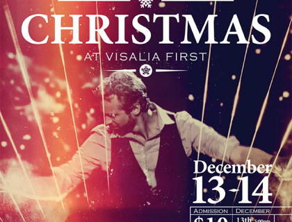 William Close, Poster, Ad, Event, Christmas